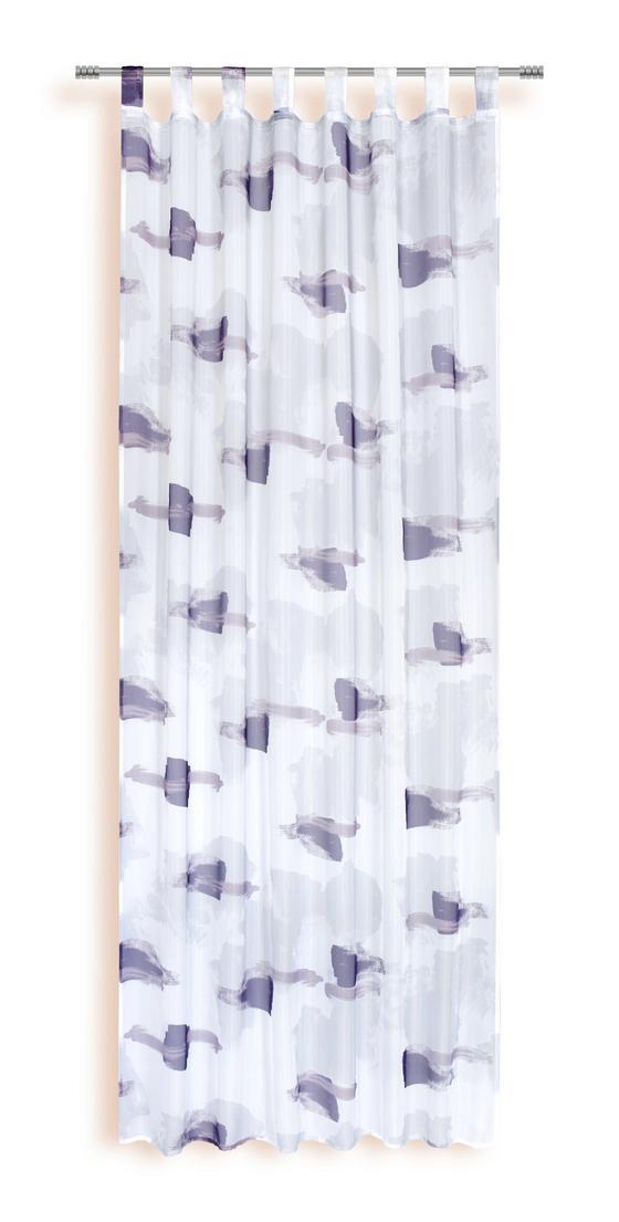 Kombivorhang Nadine - Lila/Terra cotta, KONVENTIONELL, Textil (140/245cm) - Ombra