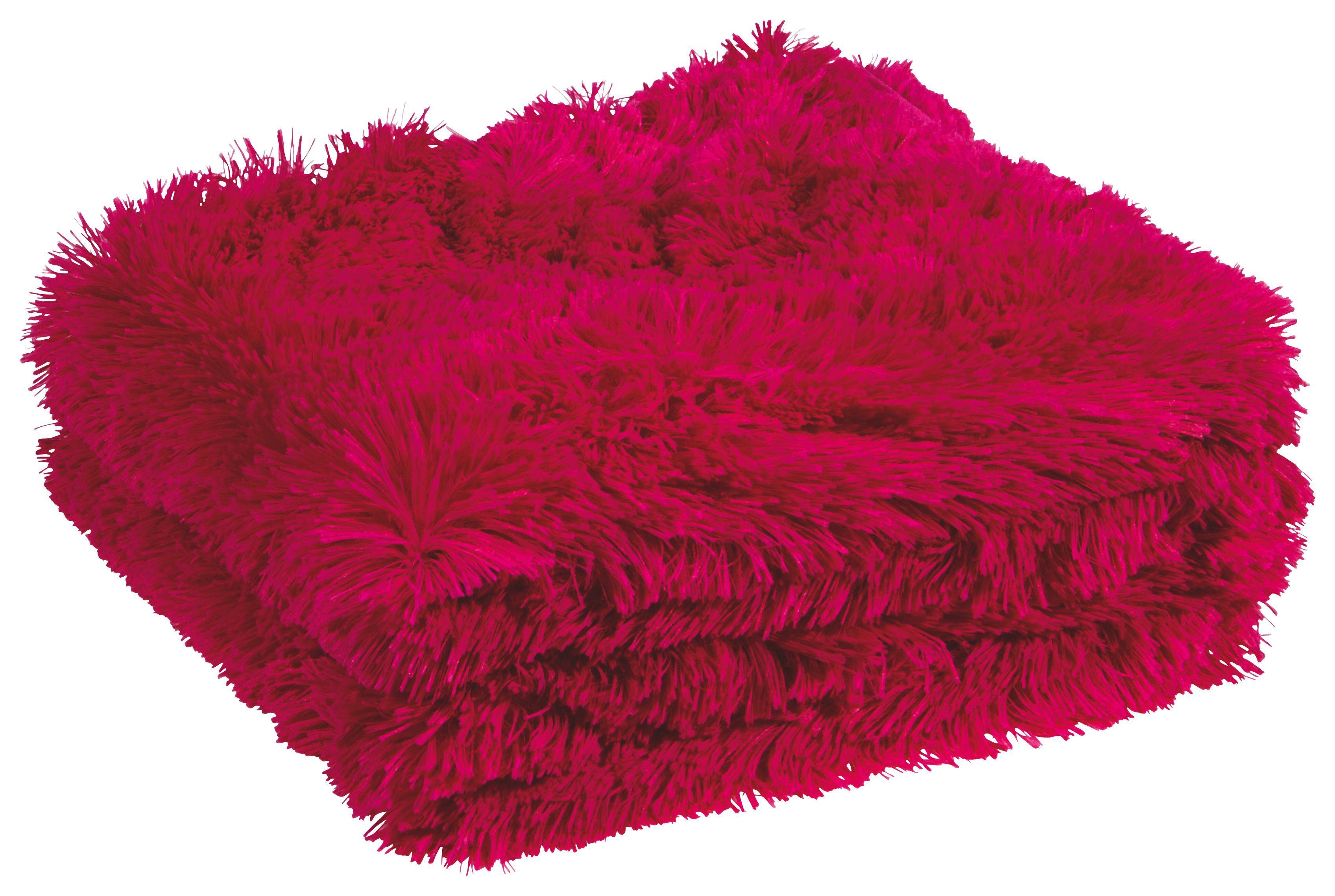 Kuscheldecke Pink