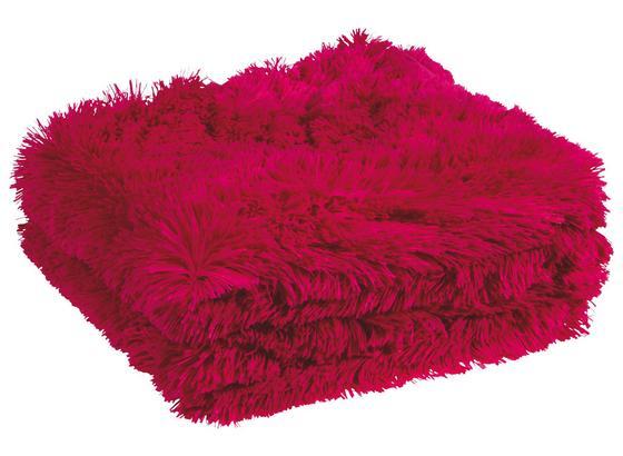Kuscheldecke Carina - Beere, KONVENTIONELL, Textil (150/200cm) - Luca Bessoni