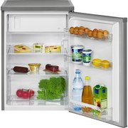 Kühlschrank Ks 2184 Edelstahl - Edelstahlfarben, Basics, Kunststoff (56/87,5/57,5cm) - Bomann