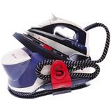 2in1 Dampfbügelsation Ssg9000 - Blau/Weiß, Basics, Keramik/Kunststoff (38,7/23,1/22cm) - Singer