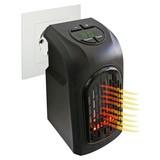 Heizstrahler Livington Handy Heater - Schwarz, MODERN, Kunststoff (13,7/8,5/15,5cm) - MEDIASHOP