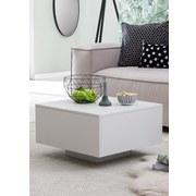 Couchtisch L: ca. 60 cm - Weiß, MODERN, Holzwerkstoff (60/60/35,5cm) - MID.YOU