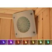Farblichtanwendung Set A - Transparent/Grau, MODERN, Kunststoff (18/18cm)