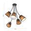 Stropní Svítidlo Elanie 68/66cm, 60 Watt - šedá, Lifestyle, textil (68/66cm) - Premium Living