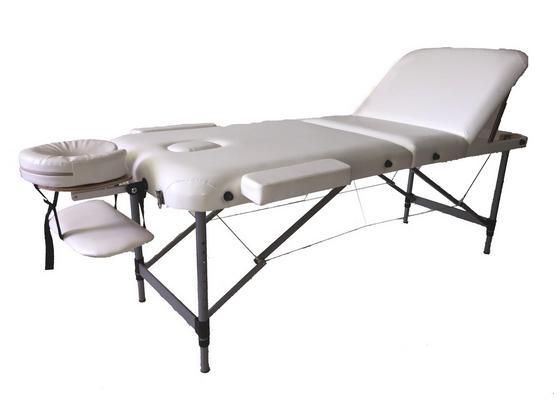 Massageliege Excellent - Beige, Basics, Holz/Holzwerkstoff (185/70/60cm) - Ombra