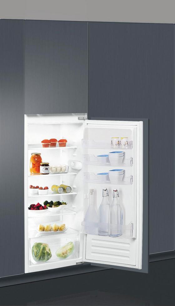 Indesit Einbaukühlschrank S 12 A1 D/1 - Weiß, MODERN, Metall (54/122/55cm) - Indesit