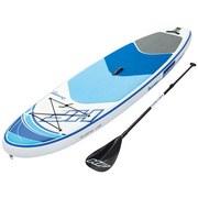 Bestway Stand-Up Paddle Board Hydro-force Oceana Tech - Blau/Weiß, MODERN, Kunststoff (305/84/15cm) - BESTWAY