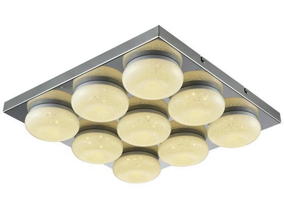 Led Stropná Lampa Pete - chrómová, Romantický / Vidiecky, kov/plast (42/6cm) - Mömax modern living