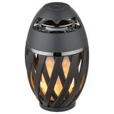 Led Tischlampe Stream Anthrazit mit Lautsprecher - Anthrazit/Opal, Basics, Kunststoff/Metall (10/16,5cm)