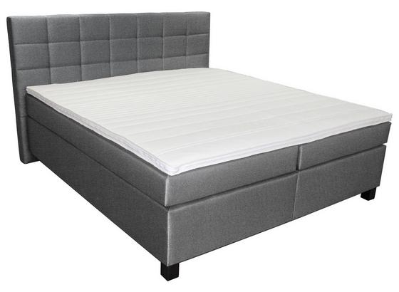 boxspringbett modena 180x200 grau online kaufen m belix. Black Bedroom Furniture Sets. Home Design Ideas