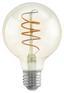 LED-Leuchtmittel Filament Spiral,e27,4w - Klar, MODERN, Glas (8/12cm)