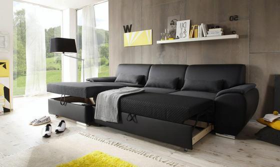 Eck-Sofa mit Schlaffunktion