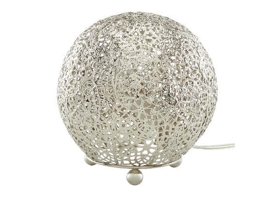 Stolová Lampa Orient 9, Max. 40 Watt - niklová, Štýlový, kov (15/16cm) - Mömax modern living