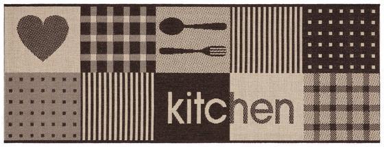 Läufer Kitchen - Basics, Textil (80/200cm) - Ombra