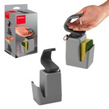 Spülmittelspender Soap-Tex Seifenspender - Grau, Basics, Kunststoff (11/8/22cm)