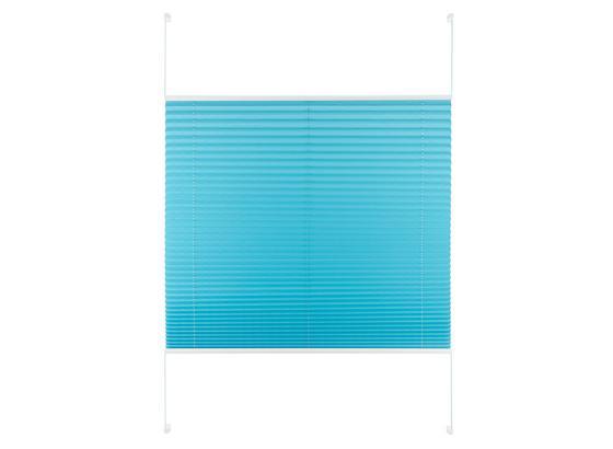 Plisé Žalúzie Free - petrolejová, textil (100/130cm) - Premium Living
