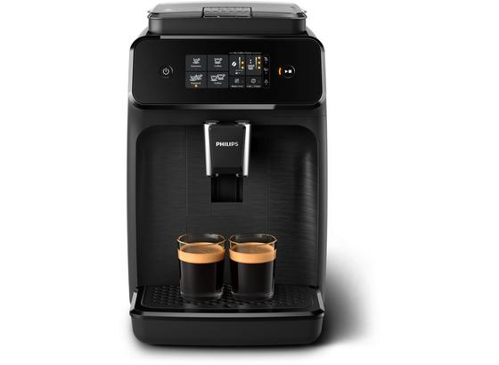 Philips Kaffeevollautomat EP1200/00 Schwarz - Schwarz, Basics, Kunststoff (29/48/49cm) - Philips