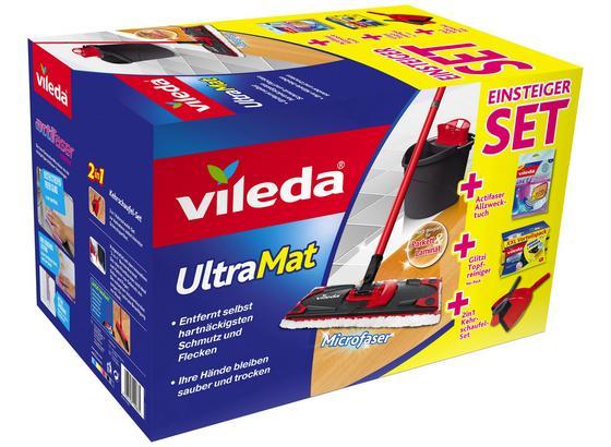 Reinigungsset Einsteigerbox Ultramat - Gelb/Rot, KONVENTIONELL (45/29,5/28,5cm) - Vileda