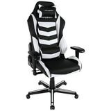 Gamingstuhl DX Racer Drifting - Schwarz/Weiß, MODERN, Textil/Metall (67/118/67cm) - Dxracer