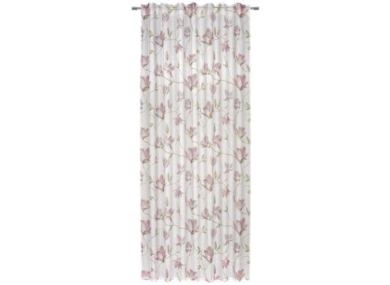 Závěs Magda - pink, Basics, textil (140/245cm) - Modern Living