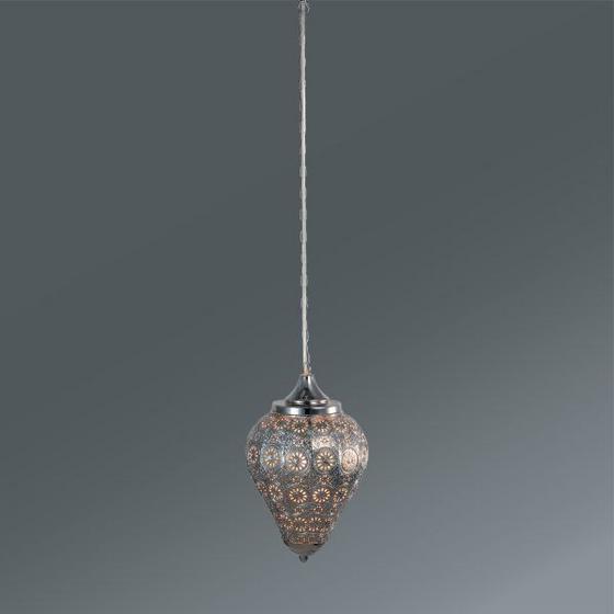 Závesná Lampa Orient 1 - farby striebra, Štýlový, kov (20/32cm) - MÖMAX modern living