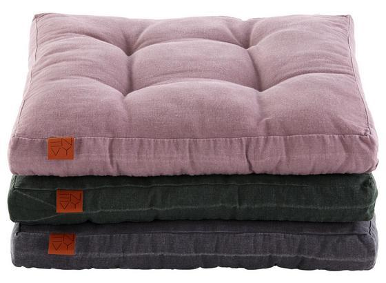 Sedací Vankúš Envy - ružová, textil (45/45/5cm) - Premium Living