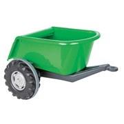 Anhänger Grün für Traktor Power Drag - Grün, Basics, Kunststoff (65,5/54/37cm)
