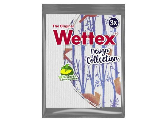 Schwammtuch Wettex 3er Design - Weiß, Basics, Textil - Vileda