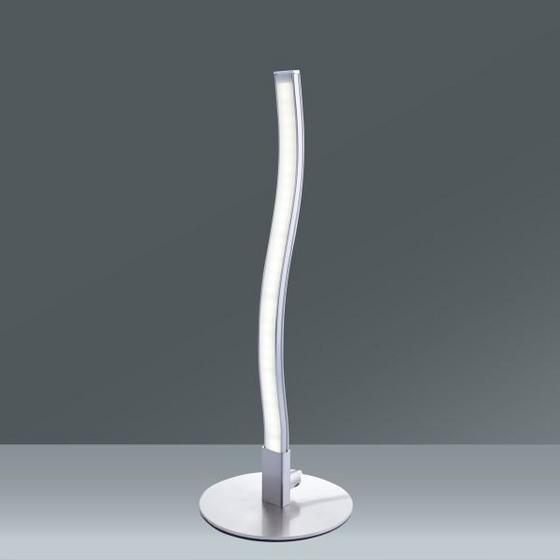 Lampa Stolní Ada - barvy chromu, Konvenční, kov/umělá hmota (10/30cm) - MÖMAX modern living