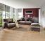 Velká Pohovka Living - tmavě hnědá/světle hnědá, Konvenční, kov/dřevo (265/82-102/108cm) - James Wood
