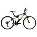 Mountainbike Mtb Atb Fully 26'' Zodiac 573m - Basics, Metall (180/70/100cm)