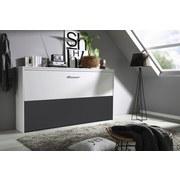 Klappbett Albero 90x200 cm Grau/Weiß - Weiß/Grau, Design, Holzwerkstoff (90/200cm) - Carryhome