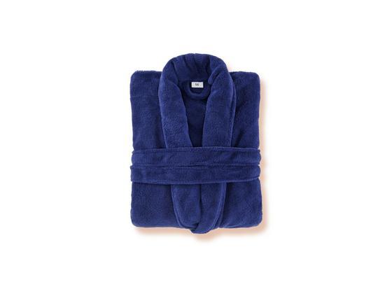 Bademantel Amira - Blau, KONVENTIONELL, Textil (S-XLnull) - Ombra