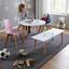 Detský Stôl Tibby - biela/farby buku, Moderný, drevo (60/47cm) - Modern Living