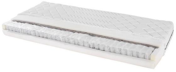 Taschenfederkernmatratze Primavera H2 80x200 - Weiß, Textil (80/200cm) - Primatex