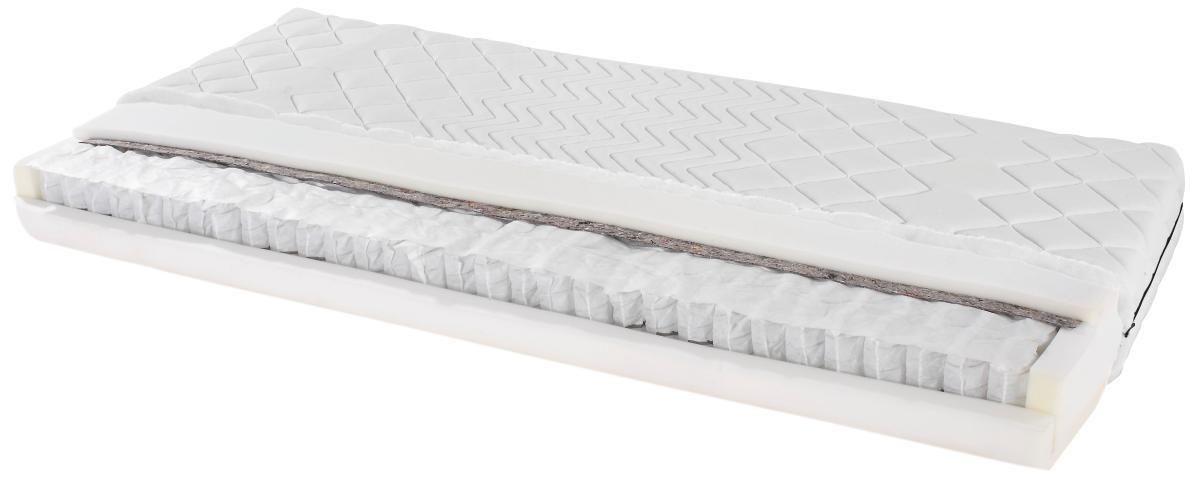Taštičkový Matrac Primavera 80x200cm - biela, textil (80/200cm) - PRIMATEX