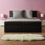 Postel Boxspring Lucy 180 - tmavě šedá, Moderní, dřevo/textil (205/186/103cm) - Mömax modern living