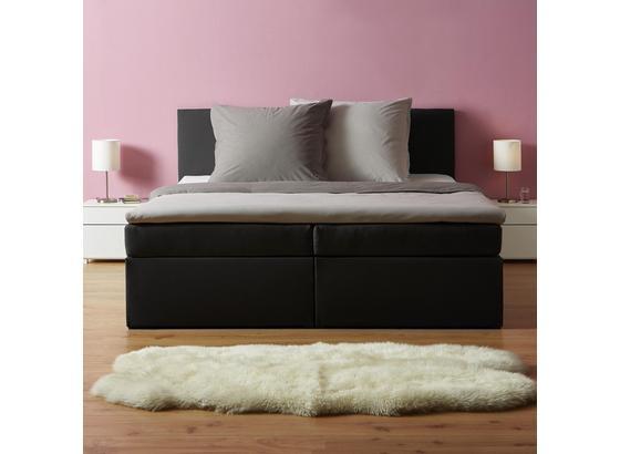 Postel Boxspring Lucy 180 - tmavě šedá, Moderní, dřevo/textilie (205/186/103cm) - Mömax modern living