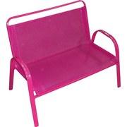 Kinder-gartenbank Lilly - Pink, KONVENTIONELL, Kunststoff/Textil (72/56/45cm) - OMBRA