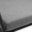 Záhradná Kávová Súprava Valentino - sivá, Moderný, kov/textil (75/190/115/75/75/60/73/73/40cm) - Bessagi Garden
