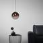 Závěsné Svítidlo Lus - černá/barvy chromu, Lifestyle, kov/umělá hmota (30cm) - Modern Living