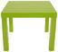 Konferenční Stolek Nora - zelená, Moderní, dřevěný materiál (55/42/55cm)