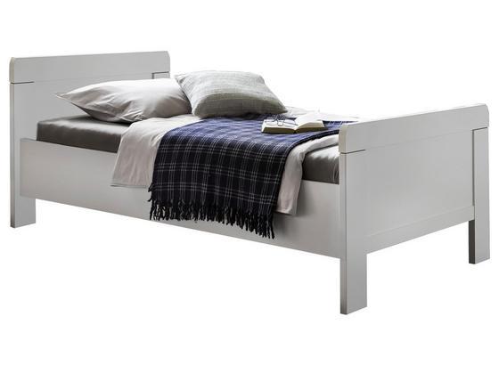 Bett Nadja ca. 90x200 cm - Weiß, KONVENTIONELL, Holzwerkstoff (90/200cm) - Cantus