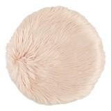 Sitzkissen Renate Ø 40 cm - Rosa, KONVENTIONELL, Textil (40cm) - Ombra