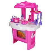 Kinderküche Sina - Lila/Rosa, MODERN, Kunststoff (42/60/28cm)
