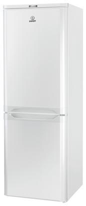 Kühl-Gefrier-Kombination in Weiß