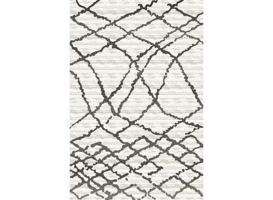 Tkaný Koberec Spinne 1 - krémová/antracitová, Konvenční, textil (80/150cm) - Modern Living