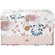 Šperkovnice Blossom - bílá/růžová, papír (23/15/14cm) - Mömax modern living