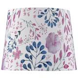 Stínítko Svítidla Blossoms - bílá, Romantický / Rustikální, textil (20/15,6cm) - Modern Living